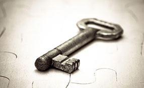 Repairing and reusing of old lock keys